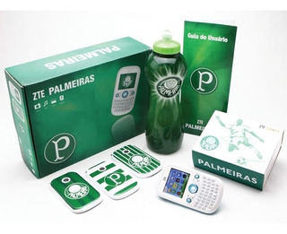Celular Palmeiras Dual Sim Com Squeeze Zte