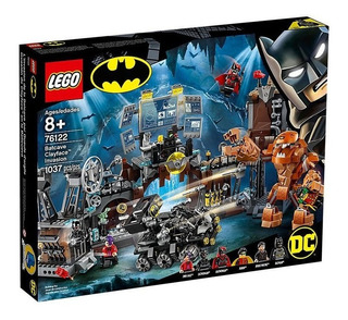 Lego Irrupción De Clayface En La Batcueva