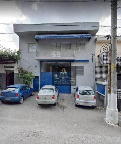 Excelente Galpão Com 550 M² Na Vila Pereira/sp - Confira! - Ga0598