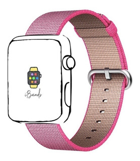 Pulseira Ibands Nylon Fivela Várias Cores Para Apple Watch