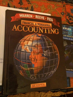 Libro Financial And Managerial Accounting, Warren, 6 Ed