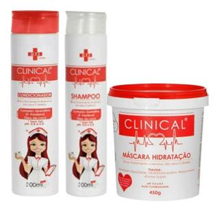 Clinical Cond.300 Ml +sh.300 Ml+mascara 500g Kelma