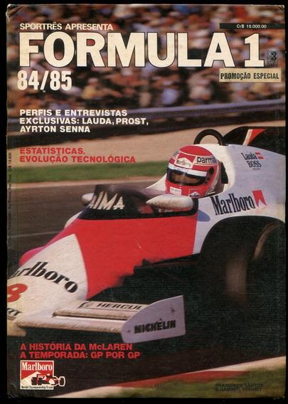 Fórmula 1 84/85 - Lauda Senna Pique - Frete Grátis - L.2055