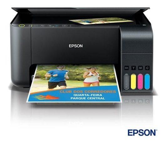 Impressora Multifuncional Epson Ecotank Tanque Tinta L3150