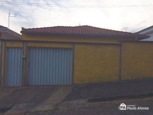 Casa Com 3 Dormitórios À Venda, 200 M² Por R$ 350.000,00 - Jardim Ipê - Poços De Caldas/mg - Ca1111