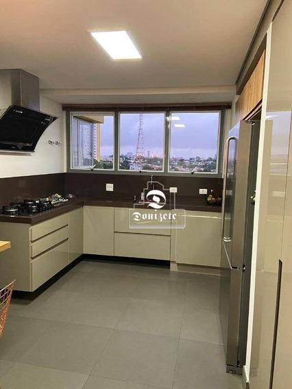 Apartamento Com 4 Dormitórios À Venda, 227 M² Por R$ 2.440.000,00 - Jardim - Santo André/sp - Ap13389