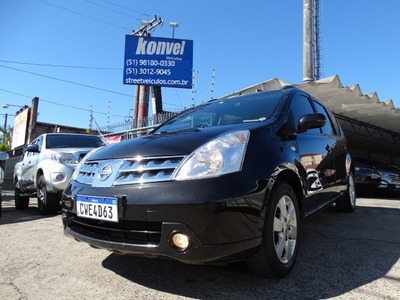 Financiamos 100% Nissan Livina 2012 1.6 Sl Flex 5p