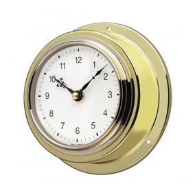 Relógio Náutico Alemão Dourado Incoterm