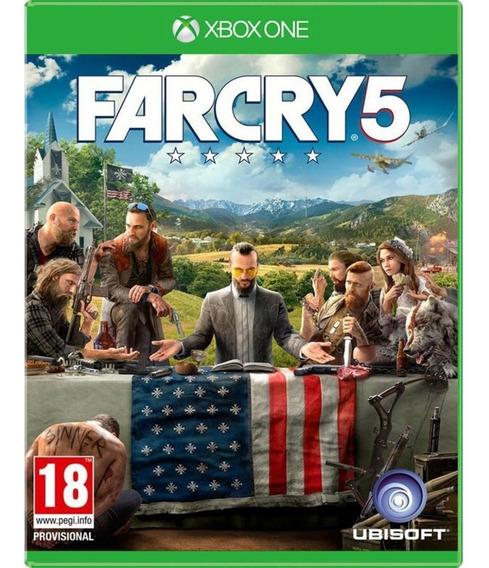 Jogo Far Cry 5 Xbox One Disco Fisico Novo Português Dublado
