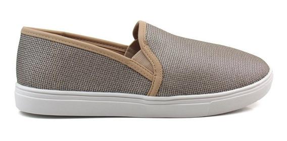 Tênis Slip On Feminino Olfer Shoes 13670-01 Sem Cadarço