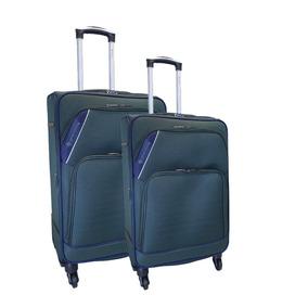 b102f42b1 Equipaje y Accesorios de Viaje Kits de Valijas 4 ruedas Verde oscuro ...