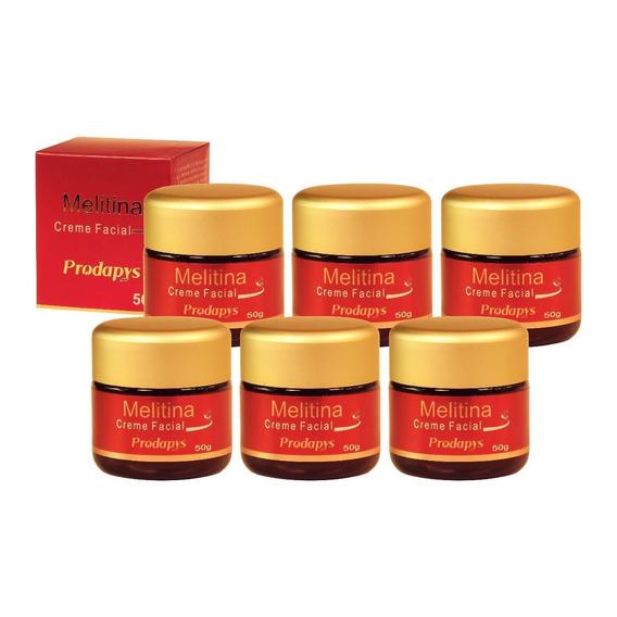 Melitina Creme Facial Prodapys 50g Kit Com 6 Unidades