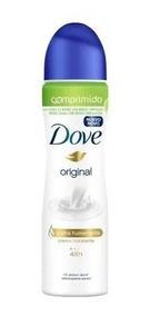 Caixa C/ 12 Desodorante Dove Comprimido Aerosol Original 54g