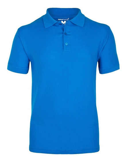 Playera Polo Casual Para Hombre National Style