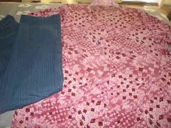 Pantalon De Jean + Blusa