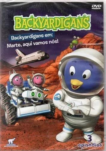 Dvd Backyardigans Marte Aqui Vamos Nós Original Lacrado