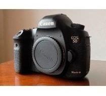 Camera Canon Eos 5d Mark Iii (corpo) Linda, Estado De Nova