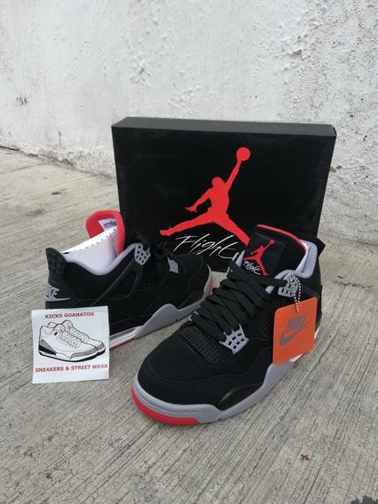 Jordan 4 Bred Talla 26 Mx