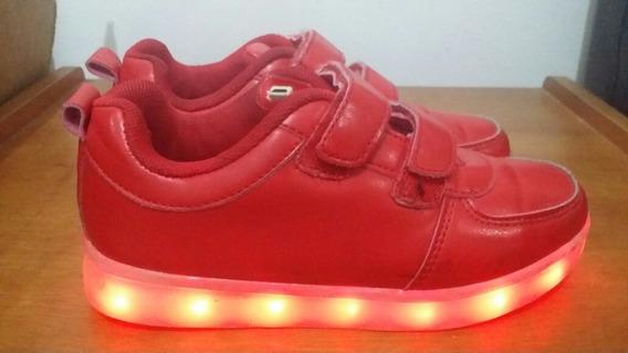 Zapatos De Luces Casi Nuevos Talla 32 Economico