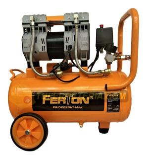 Compresor Libre De Aceite 24 Lts Ferton