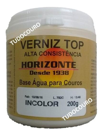 Verniz Top Creme Couro Banco Automotivo Hidratante Horizonte