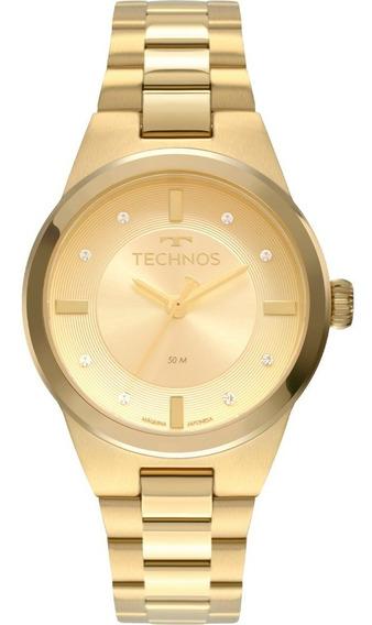 Relógio Feminino Technos Dourado 2035mrx/4x