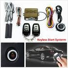 12v Car Alarm Security Start System Keyless Entry Push Butto
