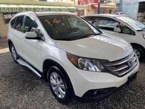 Honda Crv Exl 2014 Blanca