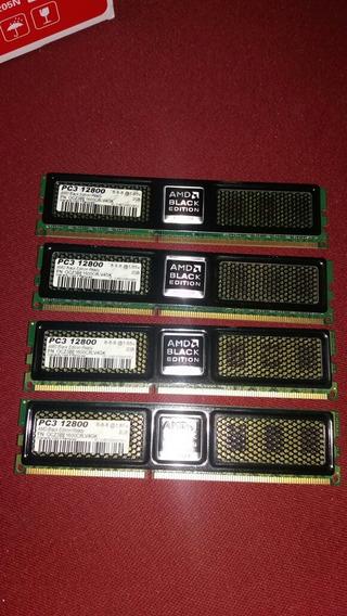 Ddr 3 1600 Mhz 8 Gb 4×2. Ocz Amd Black Edition