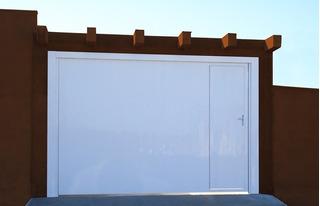 Portão De Alumínio Modelo Búzios Ou Lambri