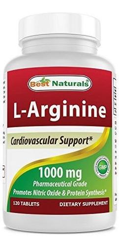 Best Naturals L-arginina L-citruline Complex Tablets,120und