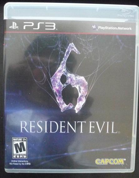 Resident Evil 6 Ps3 Original