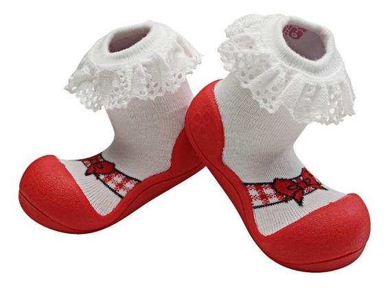 Calcetas Antiderrapante, Calzado Flexible, Gateo, Caminar