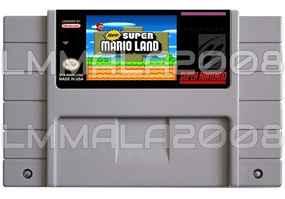 New Super Mario Land Muito Lindo Super Nintendo Snes Hack