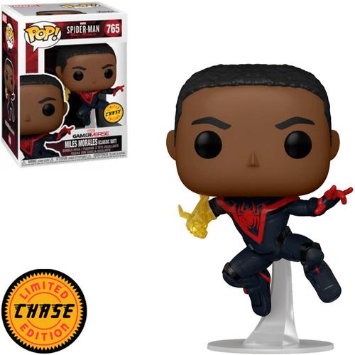 Imagem 1 de 2 de Funko Pop Spiderman Miles Morales 765 Chase