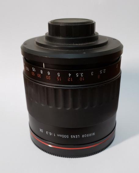 Lente Vivitar Series 1 500mm F6.3 - Para Canon