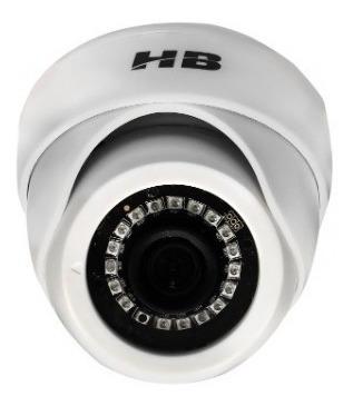 Câmera Dome Hb-2001 Ahd Hdcvi Tvi E Analógica 1 Mega 720p