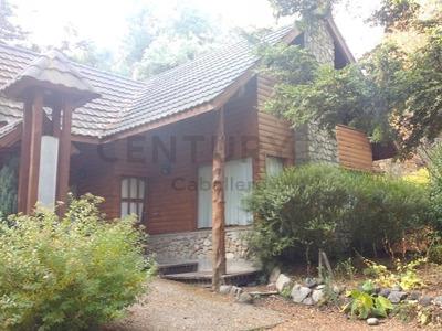 Alquiler Permanente , Cabaña 85 M2 En Puerto Manzano, Villa La Angostura