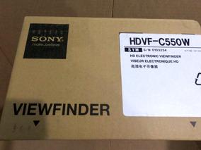 Sony Hdvf - 550w 5 Hd Visor Para Hsc Hdc Hdw Series Câmera