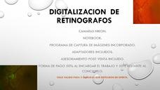Digitalización De Retinografos.