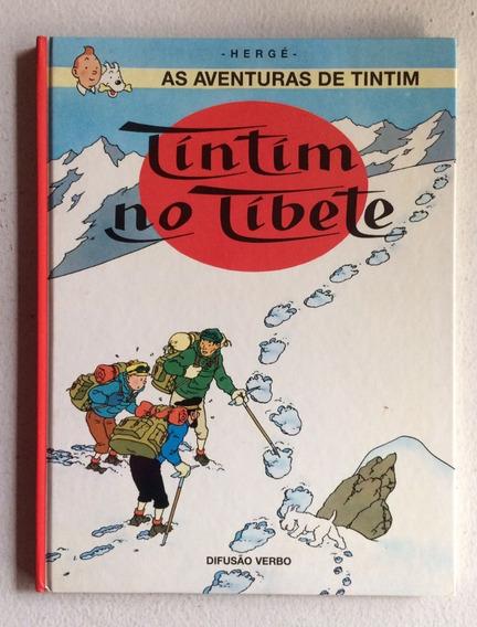 Quadrinhos As Aventuras De Tin Tin No Tibete Hergé