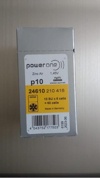 Pilhas Para Aparelho Auditivo Power One