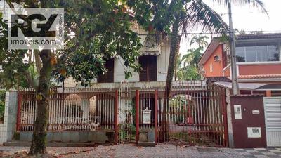 Casa Residencial Para Venda E Locação, Itararé, São Vicente. - Ca0456