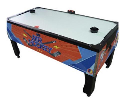 Mesa Aero Hockey Air Game Air Hockey C/ Placar Digital Super