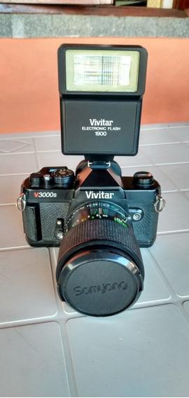 Câmera Profissional Vivitar V3000s