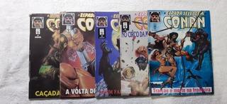 Lote 20 Hqs A Espada Selvagem De Conan 81 A 100 1ª Ed. Abril