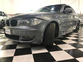 Bmw Serie 1 2.5 125i Coupe Automatico 2010 Gris Cpm