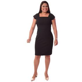 5bf82d3a4 Vestido Preto Uniforme - Vestidos Femininas no Mercado Livre Brasil