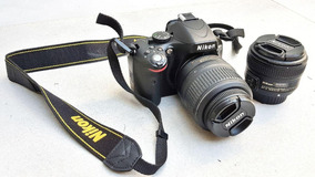 Câmera Nikon Dslr D5100 + 2 Lentes + Acessórios