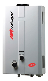 Boiler Calentador De Paso Flux Mirage 6 Lts Por Min. Gas Lp